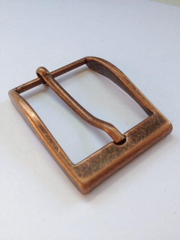 Пряжка для ремня 35 мм ст медь