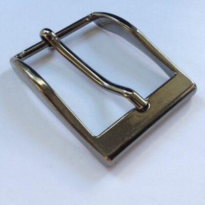 Пряжка для ремня 35 мм ч никель