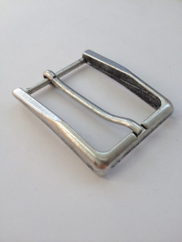 Пряжка для ремня 35 мм ст серебро