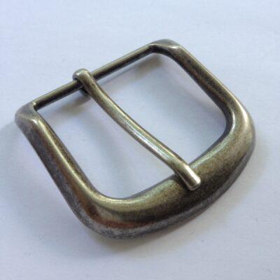 Пряжка 40 мм ст серебро