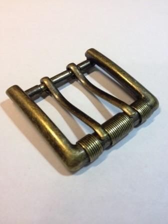 Пряжка для ремня с двумя язычками для ремня шириной 40 мм | 209р. | 1 | Пряжка для ремня с двумя язычками для ремня шириной 40 мм