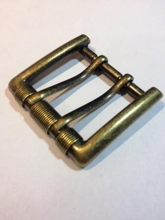 Пряжка для ремня с двумя язычками для ремня шириной 40 мм | 209р. | 6 | Пряжка для ремня с двумя язычками для ремня шириной 40 мм