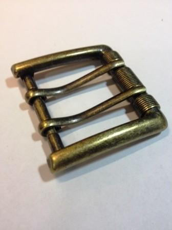 Пряжка для ремня с двумя язычками для ремня шириной 40 мм | 209р. | 2 | Пряжка для ремня с двумя язычками для ремня шириной 40 мм