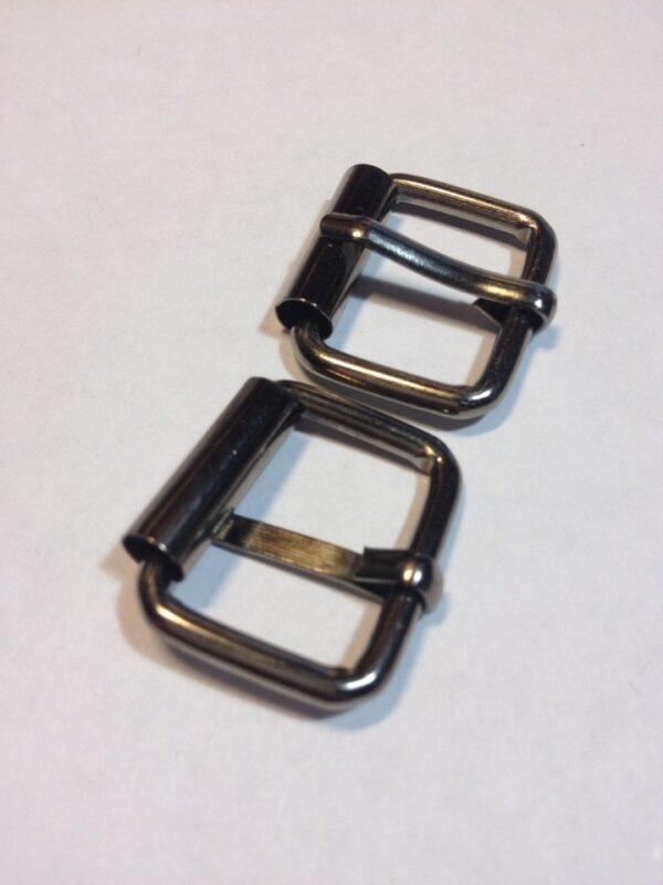 Пряжки с роликом 20 мм черный никель