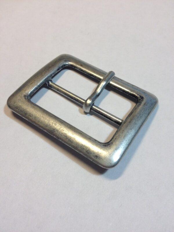Пряжка 40 мм старое серебро