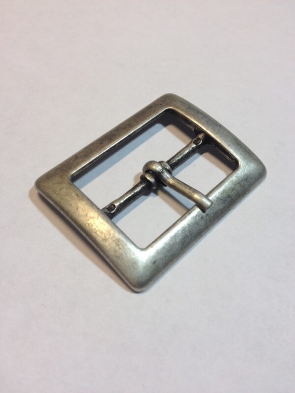 Пряжка 30 мм старое серебро