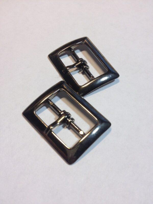 Пряжка 20 мм черный никель