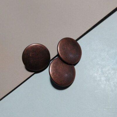 Кнопки альфа 15 мм ст.медь