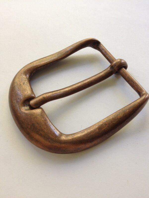 Пряжка 40 мм Италия античная медь