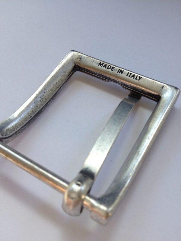Пряжки для ремней 35 мм старое серебро
