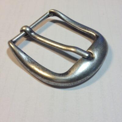 Пряжка для ремня 40 мм ст.серебро