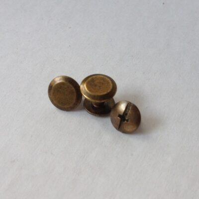 Винт для ремня ст.латунь 5 мм
