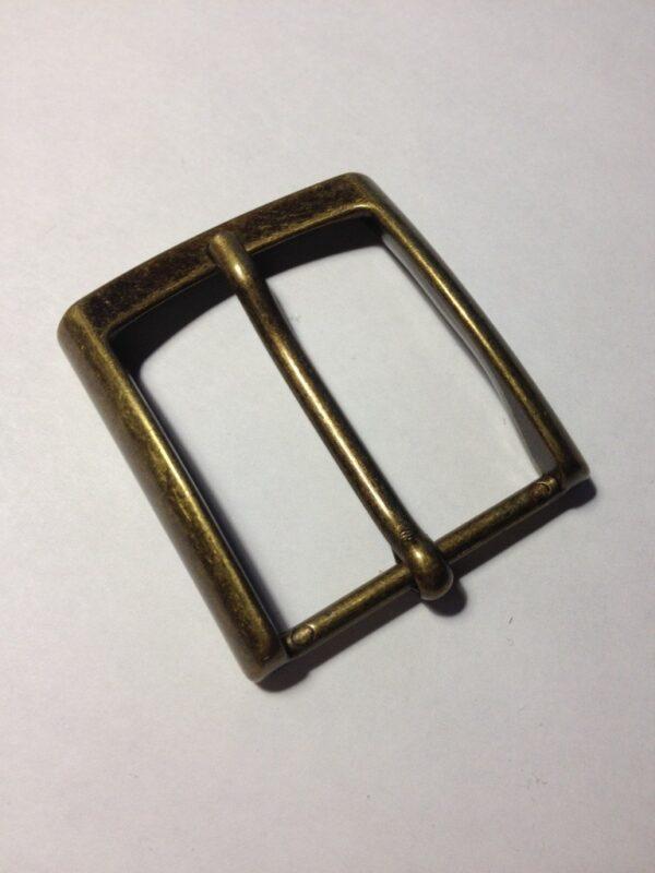 Пряжки для ремней 35 мм старая латунь