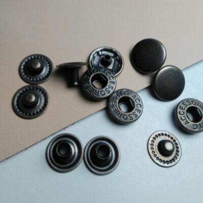 Кнопки альфа 10 мм ст латунь