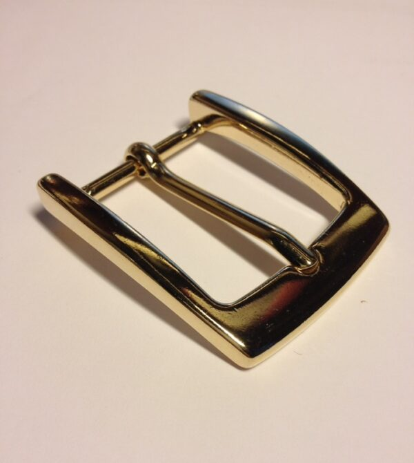 Пряжка для ремня 35 мм Покрытие Золото Италия