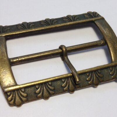 Пряжки для женских ремней 50 мм старая латунь
