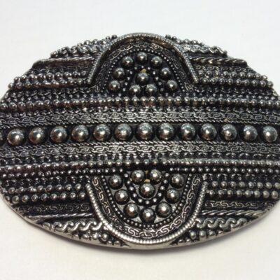 Пряжки для женских ремней 30 мм никель черненый