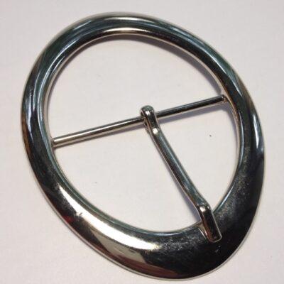 Пряжки 60 мм никель для женских ремней Италия