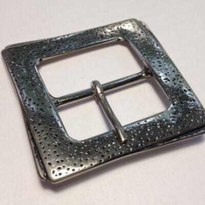 Пряжки для женских ремней 40 мм никель черненый