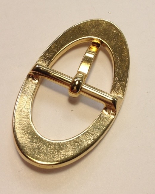 Пряжка 20 мм золото для женского ремня Италия