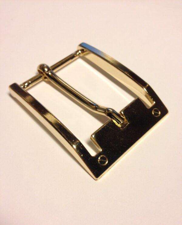 Итальянская фурнитура Пряжка 40 мм покрытие Золото