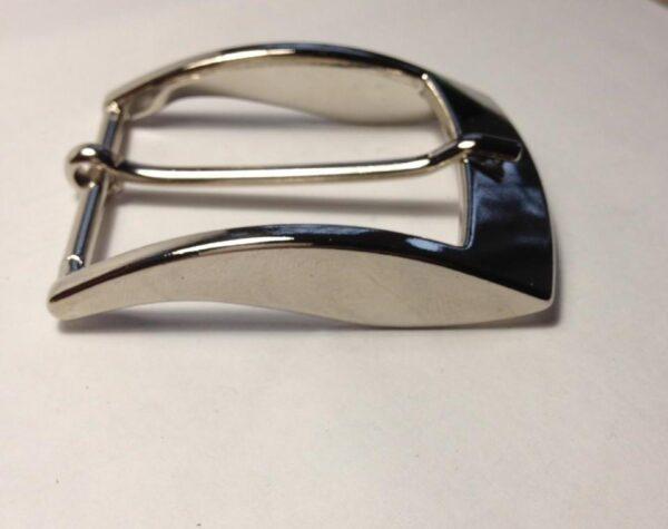 Пряжка для ремня 40 мм никель Италия
