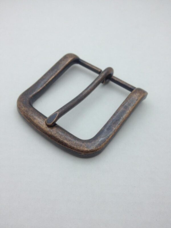 Пряжка для ремня 40 мм старая медь