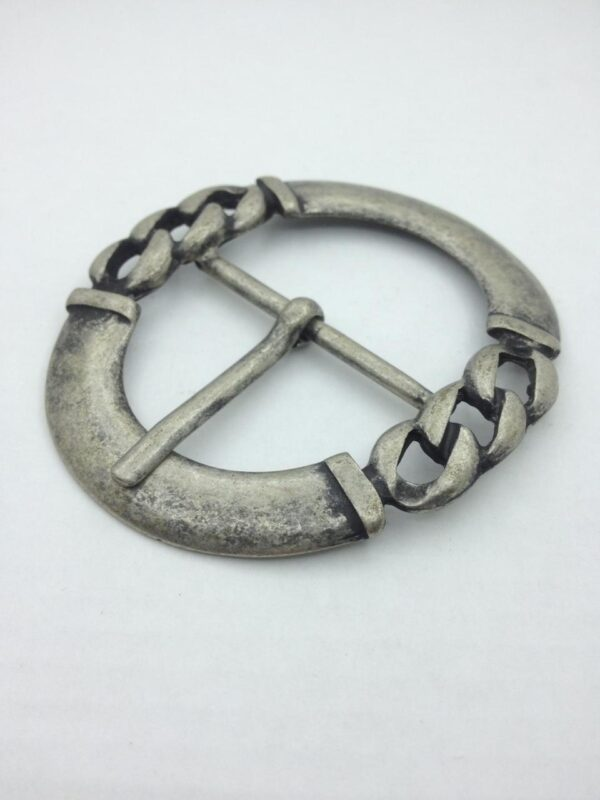 Пряжка 40 мм античное серебро