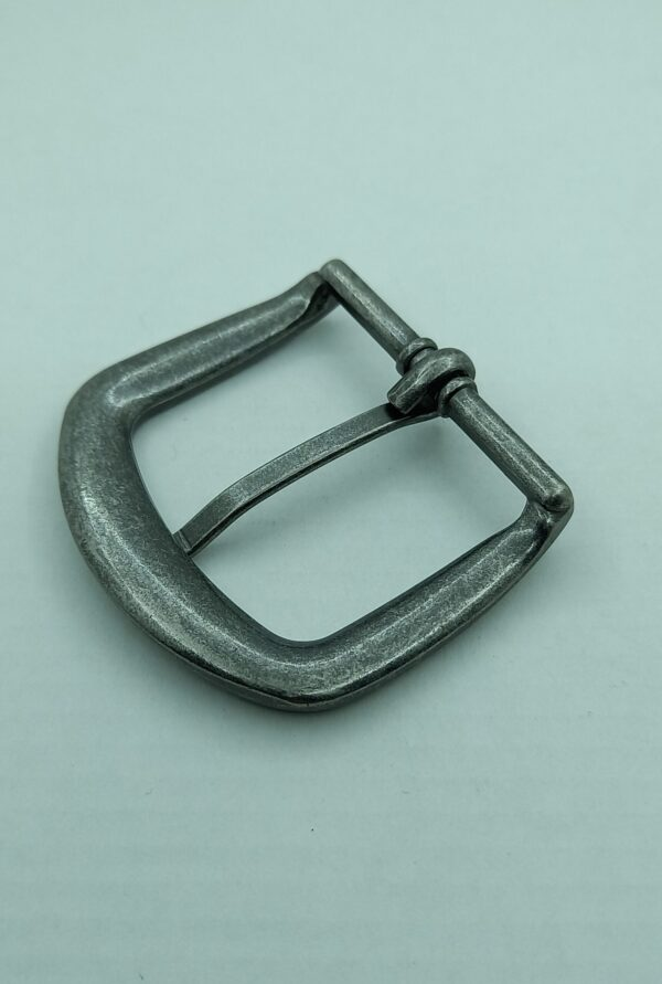 Пряжки литые для ремней 40 мм серебро